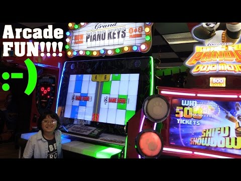 Arcade Games Playtime Fun! Angry Birds, The Transformers and more! Indoor Amusement Center