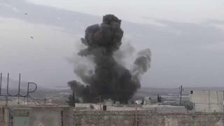 أخبار عربية - مقتل 4 مدنيين في غارة لنظام الأسد على