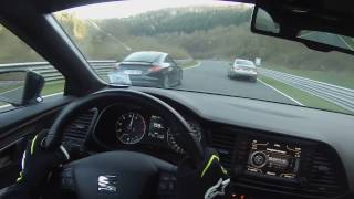 NEAR CRASH AUDI TT RS VERY LUCKY DRIVER _ NORDSCHLEIFE TOURISTENFAHRTEN 09.04.2017