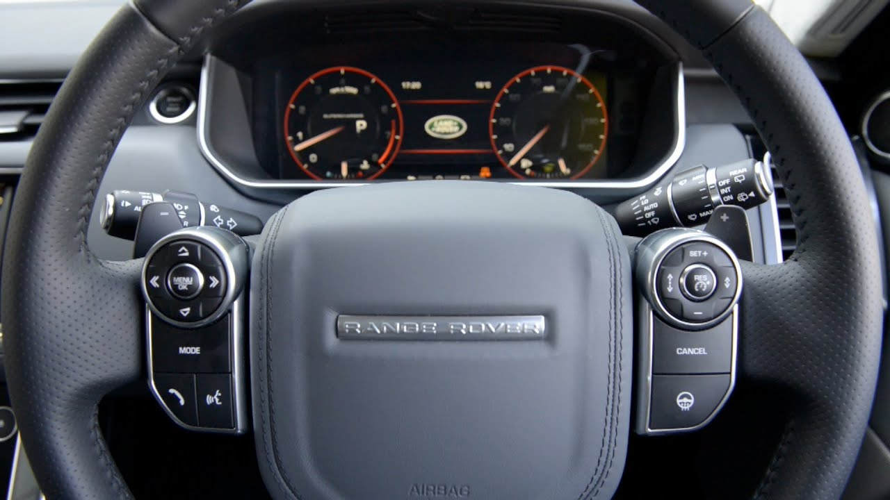range rover sport 2014 interior youtube. Black Bedroom Furniture Sets. Home Design Ideas