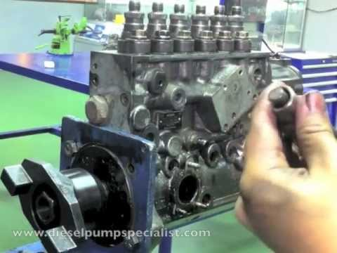 Bosch Inline Pump Disassembly Part 1 Of 2 Youtube
