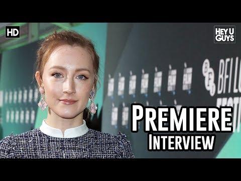 Saoirse Ronan | On Chesil Beach LFF 2017 Premiere Interview