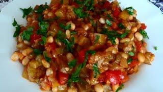 Как приготовить вкусное овощное рагу.