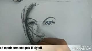 Download Video Menggambar sketsa wajah dalam 5 menit/ no timelaps MP3 3GP MP4