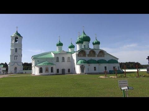 Свято-Троицкий Александро- Свирский монастырь. Лодейное Поле. Этюд.