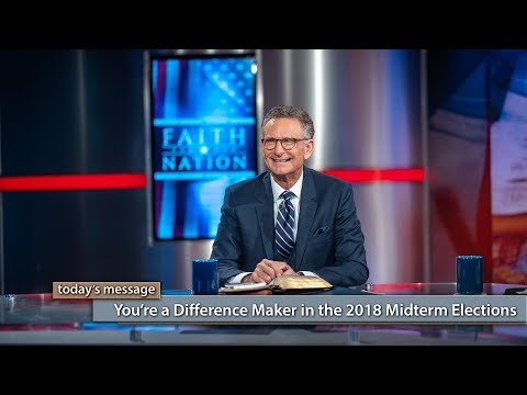 You're a Difference Maker in the 2018 Midterm Elections