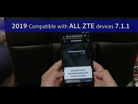 2019 ZTE GOOGLE FRP BYPASS REMOVAL. NO PC