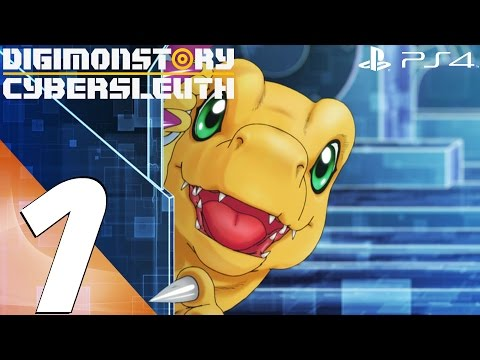 Digimon Story Cyber Sleuth (PS4) - Walkthrough Part 1 - Prologue