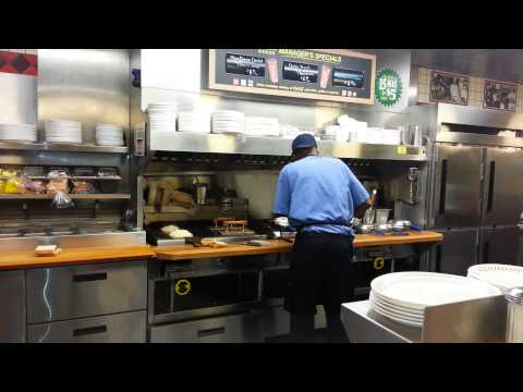 Crazy awesome waffle house cook!!!!