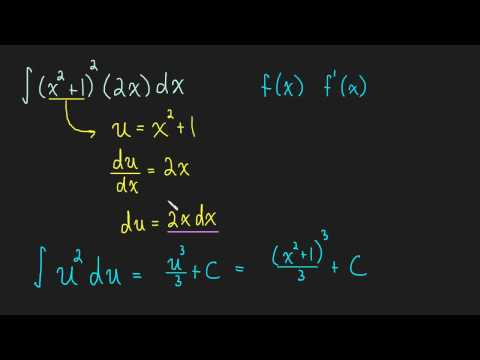 5.2  Integration: U-Substitution - Ex.1