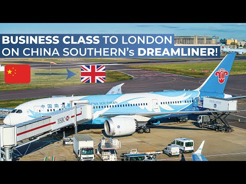 TRIPREPORT | China Southern (BUSINESS CLASS) | Boeing 787-8 | Guangzhou - London Heathrow