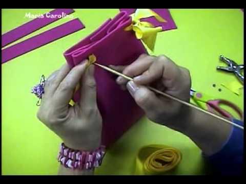 DIY craft manualidades Maria Carolina Rugero realizando un ...
