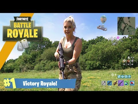 Airsoft War: Fortnite Battle Royale in Real Life!