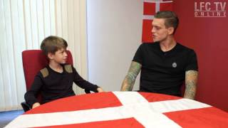 Agger quizzed by 10 year-old Red