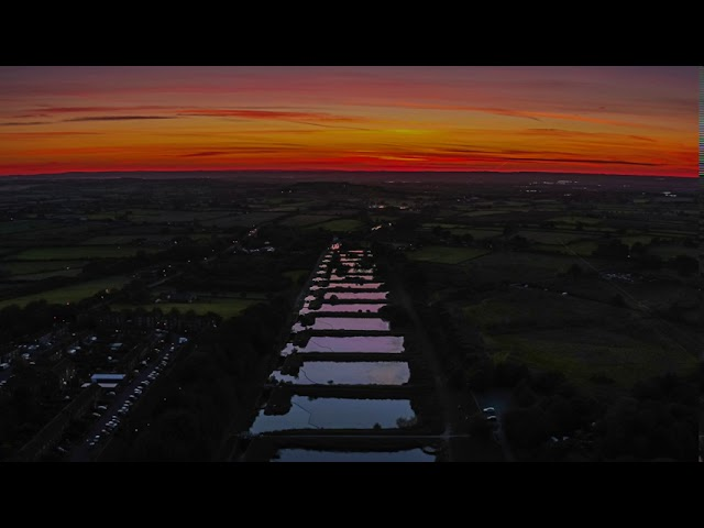 Caen Hill Sunset