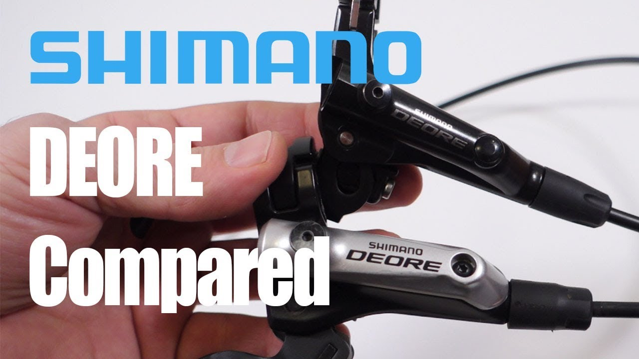 Black Right Side Deore MT200 Disc Brake 1700mm