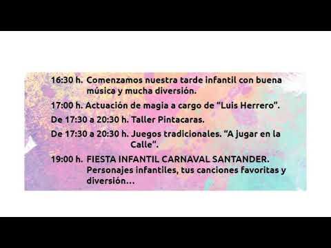 Programación Carnaval Santander 2020