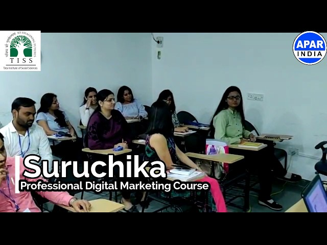 suruchika-15 years experience | Digital Marketing Course @ TATA Institute of Social Sciences