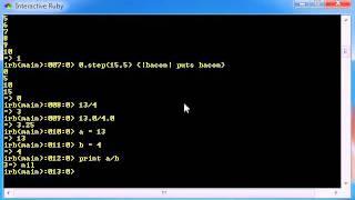 Ruby Programming Tutorial - 19 - Changing Data Types
