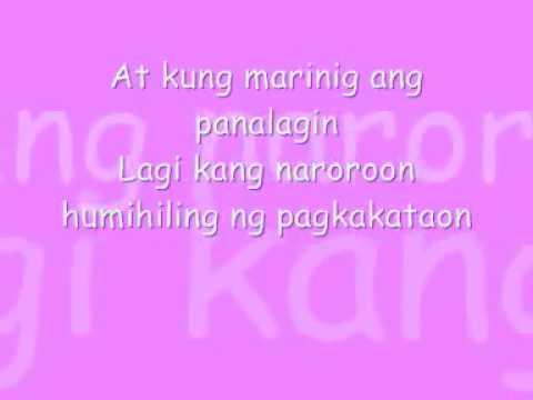 Salamat - Yeng Constantino (Lyrics)