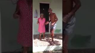 Two old man's dance