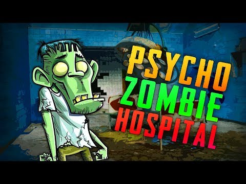 PSYCHO ZOMBIE HOSPITAL - 1+ HOUR SPECIAL ★ Call of Duty Zombies Mod (Zombie Games)
