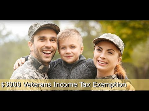 NJ Veterans Income Tax Exemption