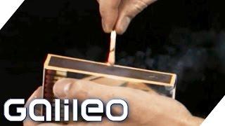 So werden Streichhölzer produziert | Galileo | ProSieben