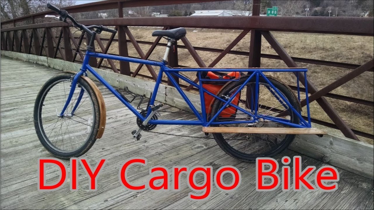 Diy Cargo Bike Turning An Old Mountain Bike Into A Cargo