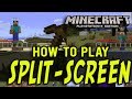 Minecraft PS4 Split-Screen Tutorial (Playstation 4 Minecraft Edition)