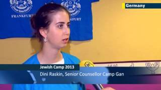 Jewish summer camps in Germany: JN1 correspondent Wilson Ruiz visits Camp Gen in Frankfurt