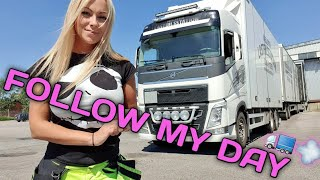 HAPPY TRUCKING p1 - Angelica Larsson