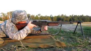 "Lt Ballard & The M1918a2 Browning Automatic Rifle (or ""bar"")"
