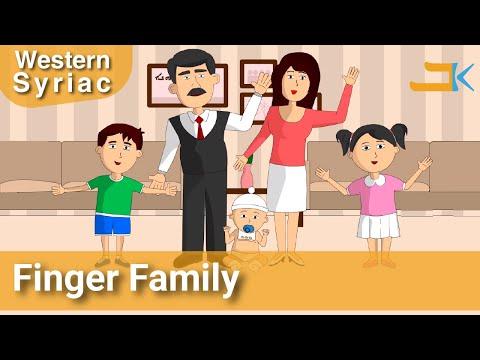 Finger Family - Western Syriac (Surayt/Suryoyo)