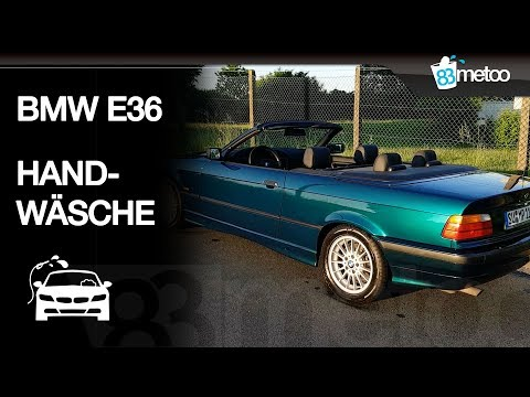 💦🚘 BMW E36 Cabrio Handwäsche| 💼 Meguiars Kit Detailing Bag| Meguiars Hot Shine Reflect Tire Shine