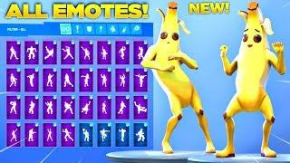 *NEW* PEELY SKIN SHOWCASE WITH ALL FORTNITE DANCES & NEW EMOTES! (Fortnite Season 8 Skin)