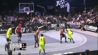 Novi Sad (SRB) vs Saskatoon (CAN) - Final - Full Game - 2014 FIBA 3x3 World Tour Final