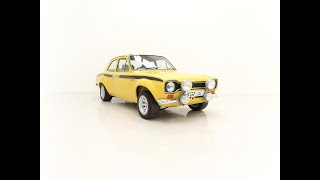 An Iconic AVO Mk1 Ford Escort Mexico with Many RS Clubman Pack Accessories - £39,995