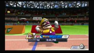 Mario and Sonic at the Olympic Games Athletics: 400 meter Hurdles
