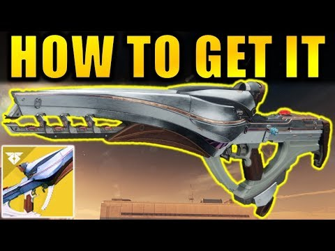Destiny 2: How to Get the POLARIS LANCE Exotic Scout Rifle! | Warmind