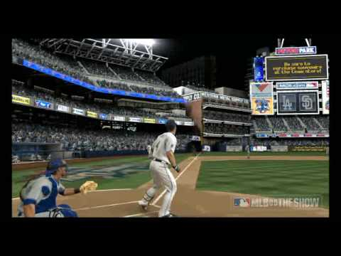 MLB 09: The Show - Nick Hundley homers off of Chad Billingsley
