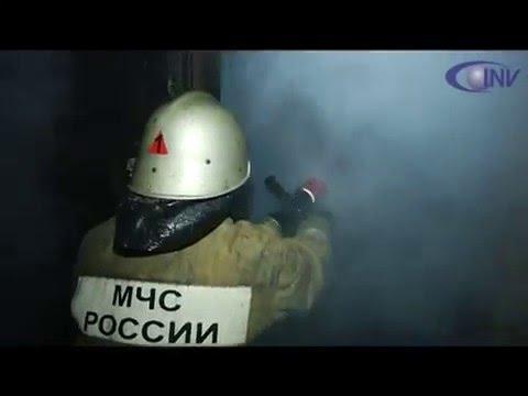 Пожар на строительном складе в Калуге