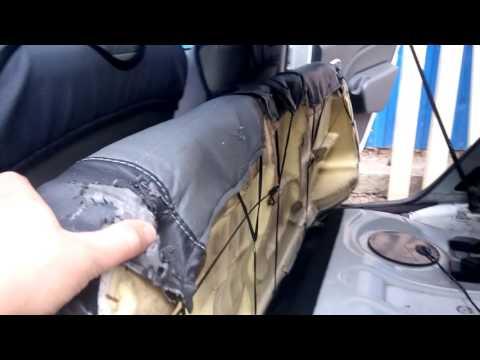 Переделка заднего сидения на рено логан
