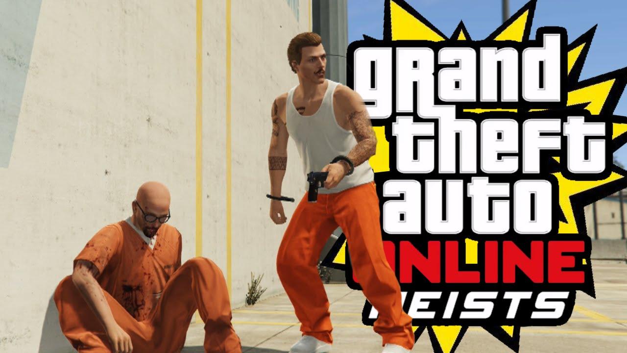 Prison Break Heist Finale 3 Gta 5 Heist Youtube