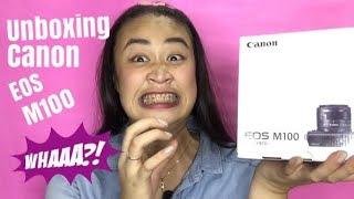 UNBOXING: Canon EOS M100 (MURA AT MAGANDA NGA BA?)  || JoyExpress (Philippines)