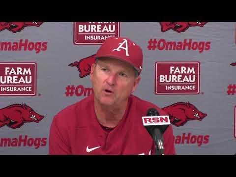 Dave Van Horn recaps series sweep of Alabama