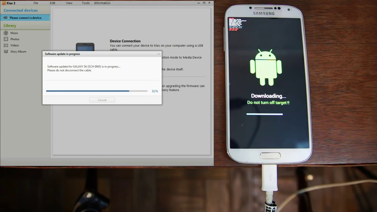 Download Restore your Samsung Firmware with Kies, Universal Method works on all devices
