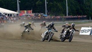 2014 Virginia Mega Mile Heat Races - AMA Pro Flat Track