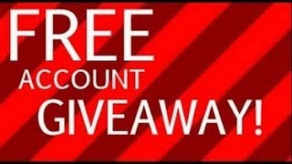 Thank you for 680 veiws! (Roblox acc giveaway!)