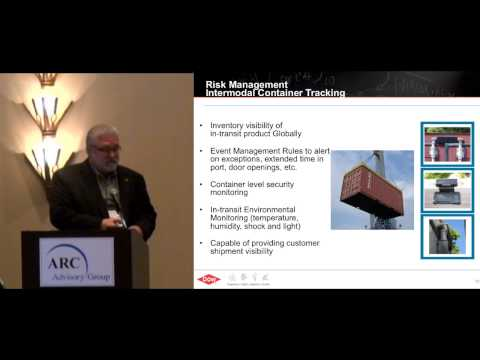 Supply Chain Risk Management, by Dow Chemical's Craig Casto at ARC World Industry Forum 2013